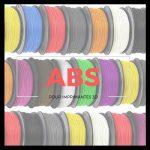 Vignette filaments ABS pour imprimante 3D