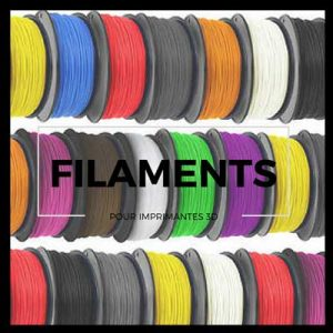 Vignette filaments imprimante 3D